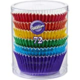 Best Cupcake Liners - Wilton 415-5172 72 Count Rainbow Cupcake Liners Review