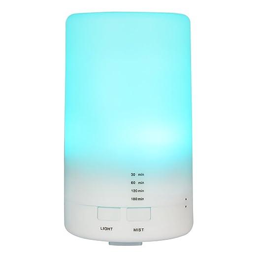 56 opinioni per Diffusore di Aromi Ultrasuoni Vaporizzatore 7 Colori LED, Oli Essenziali,