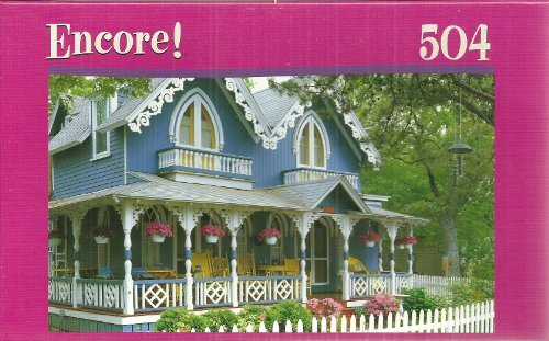 Encore Gingerbread House 504 Piece Jigsaw Puzzle by Mega Brands
