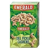 Emerald 94117 Snack Nuts Dill Pickle Cashews 1.25 oz Tube 12/Box