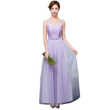 2c0f9124ba03c cnstone ブライズメイド ドレス パープル ロングドレス ウェディングドレス エンパイアライン カラードレス 結婚式 二次会