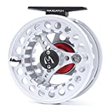 Maxcatch BLC Fly Reel Large Arbor with Diecast Aluminum Body (2/3wt 3/4wt 5/6wt 7/8wt)