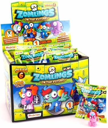 Zomlings- Caja con 50 sobres, serie 6 (Magic Box Int. Toys ZM6P0101) , color/modelo surtido: Amazon.es: Juguetes y juegos