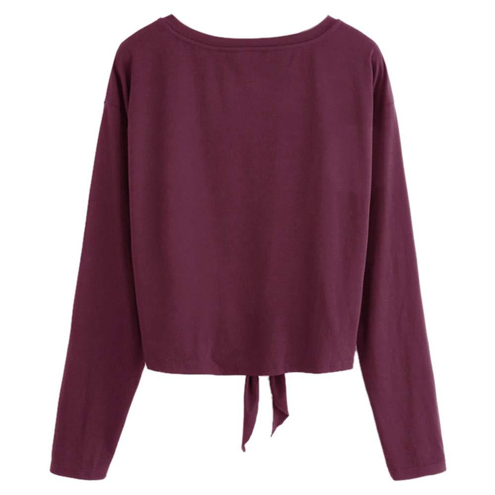 Ulanda-EU Mode Femme Casual Sweatshirt Perlage Sweat /à Capuche /à Manches Longues L/âche Bandage Hooded Sweatshirt Top Sweatshirt Femme Pas Cher Sweat Pullover Hoodie Vintage Blouse Automne