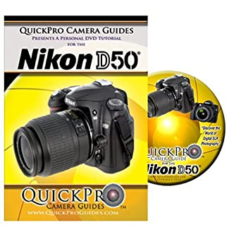 amazon com nikon d50 instructional dvd by quickpro camera guides rh amazon com Toshiba User Guide Manual Paperwork Guide