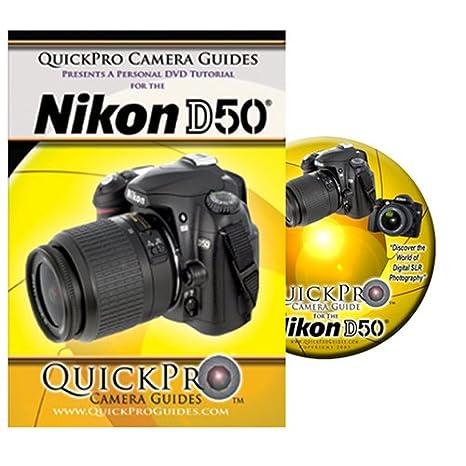 amazon com nikon d50 instructional dvd by quickpro camera guides rh amazon com nikon d500 user manual nikon d500 user manual