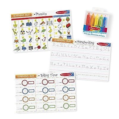 Melissa & Doug Basic Skills Placemat Bundle: Melissa & Doug: Toys & Games