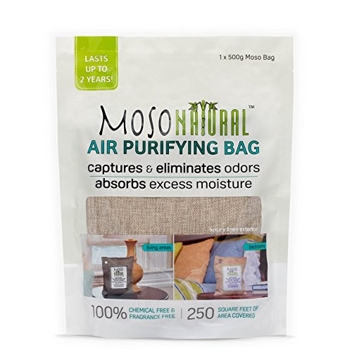 Moso Natural Air Purifying Bag 500-Grams. Natural Color. Natural Odor Eliminator. Fragrance Free, Chemical Free, Odor Absorber. Captures and Eliminates Odors. by Moso Natural (Image #3)