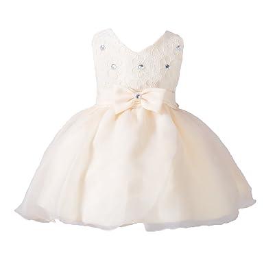 Party Brautkleider hibote Neugeborenes Baby Mädchen Kleid Prinzessin ...