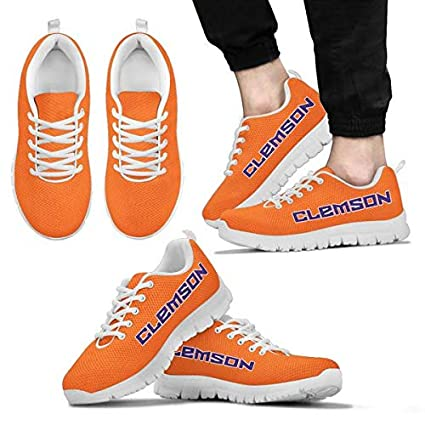 d9021e8bd Amazon.com   Clemson Tigers Themed Athletic Running Shoes - Tiger ...