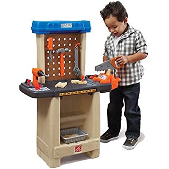 Amazon Com Step2 Deluxe Workshop Playset Toys Amp Games