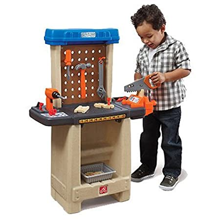 The Step2 Company Handy Helpers Workbench Building Set Building & Construction Toys at amazon