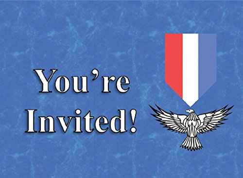 Eagle Scout Court of Honor Invitation Eagle Badge (Pack of 24) (Eagle Scout Court Of Honor)
