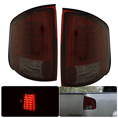 Gmc Sonoma Ebay - Chevrolet Chevy S10 GMC Sonoma Isuzu Hombre LED Tail Lights Lamps (Red Smoke)