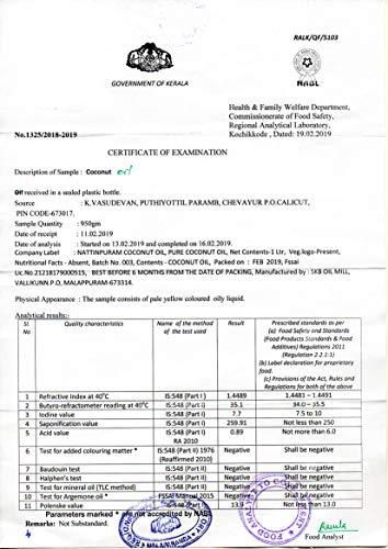 Nattinpuram Pure Coconut Oil (500ml)