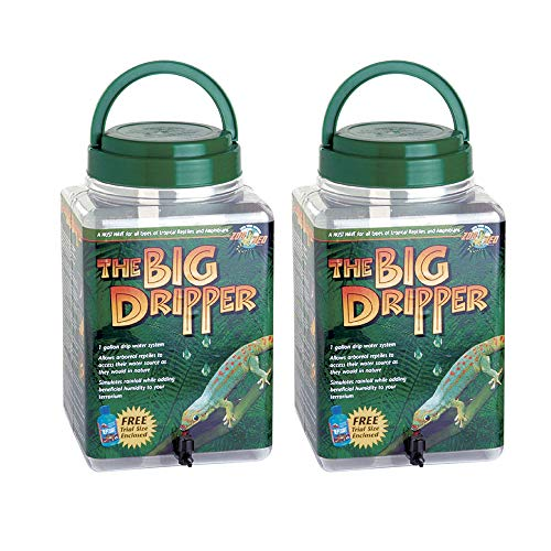 Zoo Med The Big Dripper, Gallon (2-Pack)