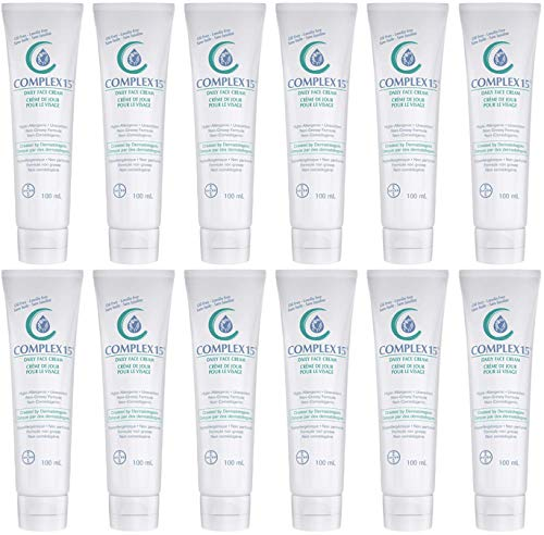 Complex 15 Daily Face Cream 3.4 Ounce (100ml) - Pack of 12 - Sealed Manufacturer Case Pack