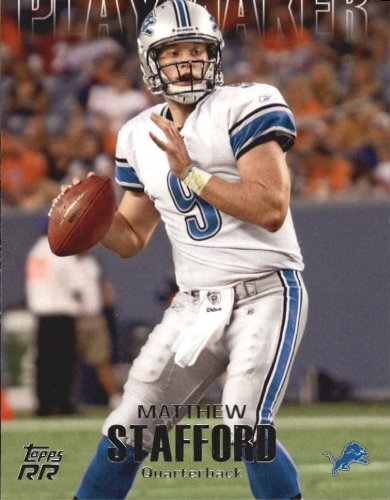 2011 Topps Rising Rookies Playmaker #PMS Matthew Stafford - Football Card -  Topps Co.