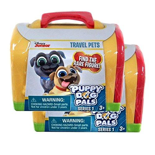 Disney Junior Puppy Dog Pals Travel Pets Series 1 (2 Pack)