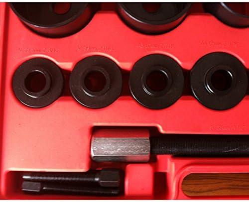 CCLIFE Buje de rueda de 20 piezas de rueda de Juego de herramientas de rueda Herramientas Extractor Extractor montaje