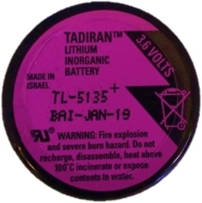 1 TADIRAN TL-5135 3.6V 1700mah Lithium Inorganic Battery