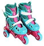 Best Toys & Child Outdoor Roller Skates - PlayWheels Trolls Kids Convertible 2-in-1 Skates - Junior Review
