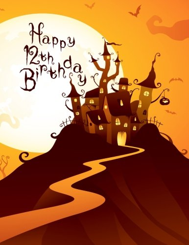Happy 12th Birthday: Discreet Internet Website Password Organizer,