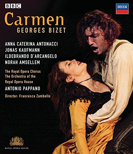Blu-ray : Antonio Pappano - Carmen (Widescreen, )