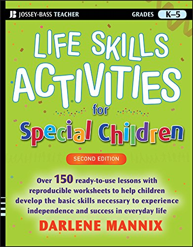 Life Skills Activities for Special Children - Life Skills Workbooks