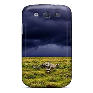 Cute Appearance Cover/tpu Speed Of A Cheetah Case For Galaxy S3