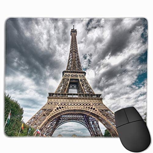 Smooth Mouse Pad Paris Cloud Day Mobile Gaming Mousepad Work Mouse Pad Office Pad