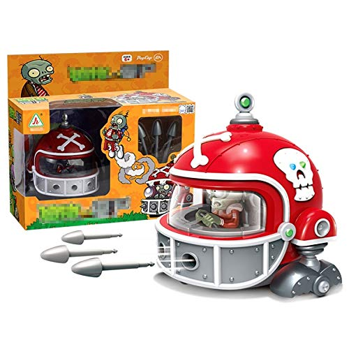 8 cm Mecha Football Plants VS Zombies Toy Figure]()