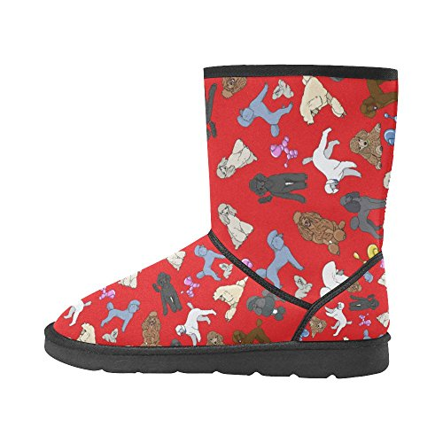 D-Story American Flag and Eagle Eye Unisex Snow Boots Casual Womens Mens Boots Multicoloured5 rKiYJ6ImrN