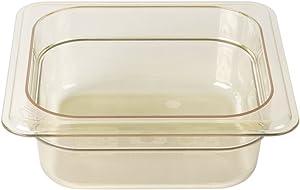 Cambro 62HP150 H-Pan Hot Food Pan, Sixth-Size, 1-1/8 Quart