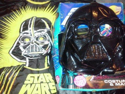 Vintage Star Wars Costumes (Star Wars Darth Vader Costume Vintage 1977 MIB Ben Cooper)