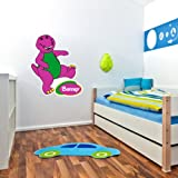 "Barney the Dinosaur children decor Wall Graphic Decal Sticker 25"" x 21"""