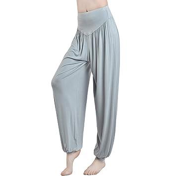 YONKINY Pantalones de Pilates Yoga Pijamas Mujer Super Soft ...