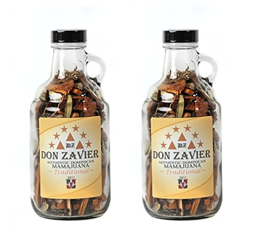 TWO 750 mL Don Zavier TRADITIONAL Mamajuana