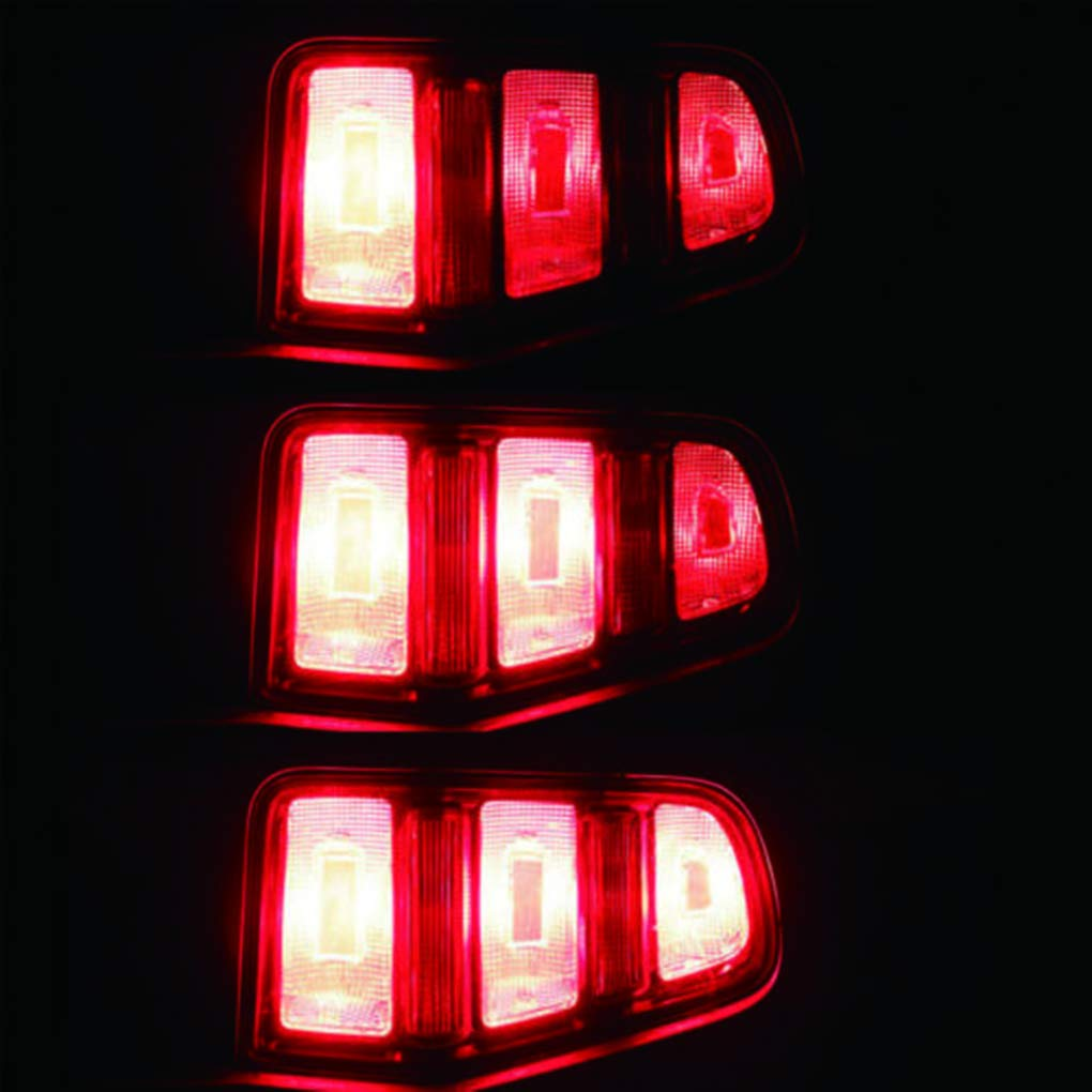 AmzElenxs Elenxs 1pair Automotive Turn Module s/équentiel l/éger Flux Semi Dynamique Chase Flash Tail Bo/îtes Lampe