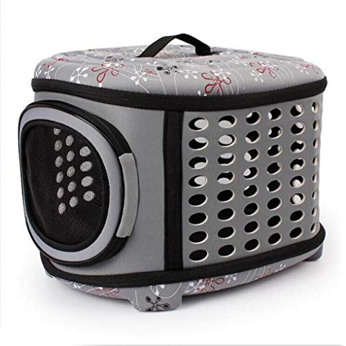 Yaloee Pet Carrier Portable Folding Cat Bag Eva Pet Bag Outdoor Pet Travel Bed Dog House Breathable Elliptical Dogs Cats Zipper Bag