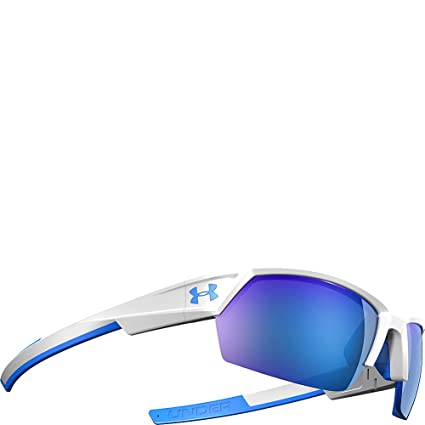 c0b43a0a2e Under Armour Eyewear UA Igniter II Sunglasses (White Exterior Blue Interior