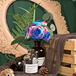 NT-NIETING-Artificial-Flowers-Roses-25pcs-Real-Touch-Artificial-Foam-Roses-with-Steams-for-Baby-Shower-Cake-Decoration-DIY-Wedding-Bridal-Bouquets-Centerpieces-Party-Decoration-Unicorn-Series-B