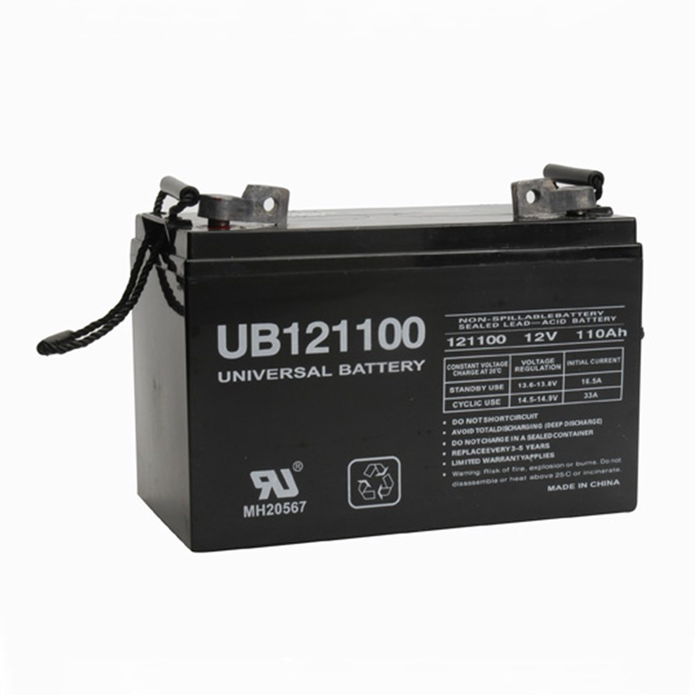 UB121100 Group 30H 12V 110Ah AGM Battery for RENOGY PV SOLAR PANELS