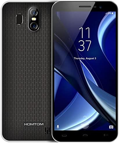 HOMTOM S16 - Pantalla HD de 5.5 Pulgadas (proporción de 18: 9) Android 7.0 Smartphone 3G, 1.3GHz Quad Core 2GB RAM 16GB, cámara Tres (8MP + 2MP + 13MP): Amazon.es: Electrónica