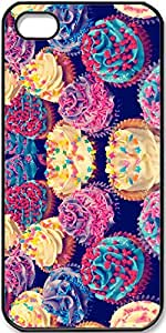 iPhone 5/5s Case Creative-Color-CupCake Case for iPhone 5/5s with Black Side