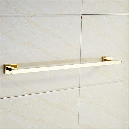 Moodsc Gold Towel Bar Chrome Bathroom Accessories Modern