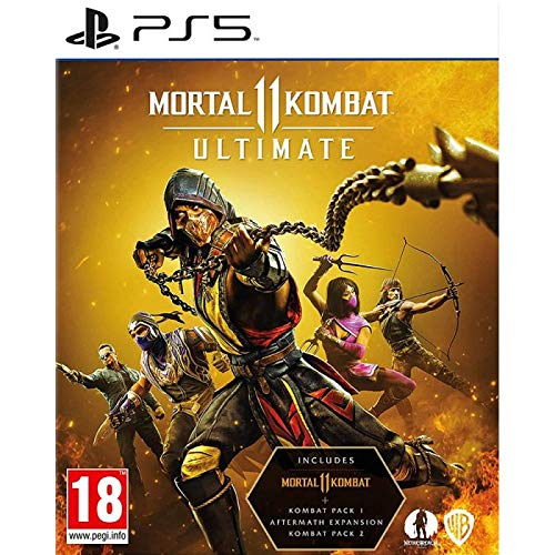 PS5 Mortal Kombat 11 Ultimate (Electronic Games)