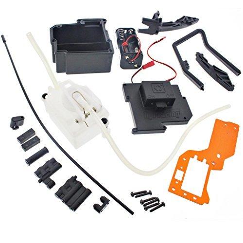 Hpi Radio Box (HPI 1/10 Bullet MT ST Nitro 3.0 BATTERY & RECEIVER BOX, RADIO TRAY & FUEL TANK)