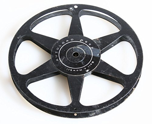 REGULAR 8 B&H METAL AUTO LOAD 400FT MOVIE REEL from BELL AND HOWELL VINTAGE