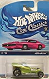 Hot Wheels Cool Classics Astro Funk Spectrafrost Green #17/30 with Pink Picture Car